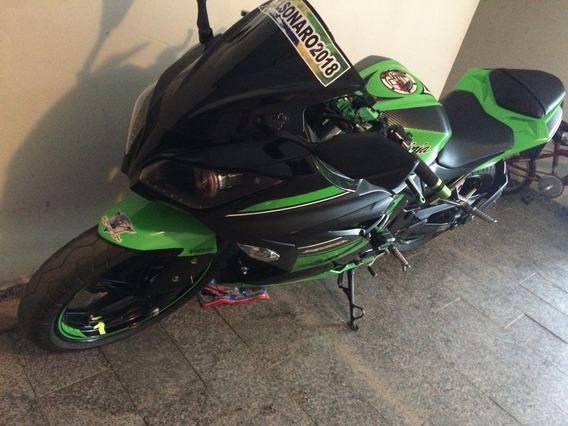 Kawasaki Ninja Ed. Special Abs 300 Cor Verde