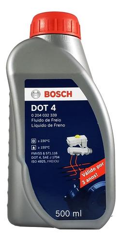 Imagem 1 de 4 de Fluído De Freio Bosch Dot 4 500ml Original Para Citroën C4 L