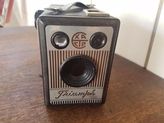 Câmera Fotográfica Caixote Exacta Triumph