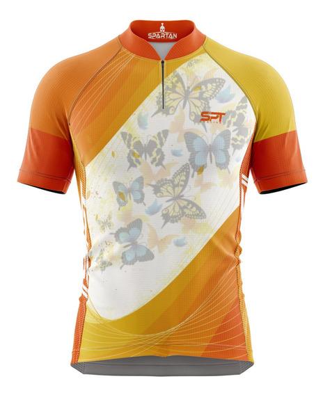 Camisa Mtb Ciclista Spartan New Ref 09 Uv 50+ ( Lançamento)