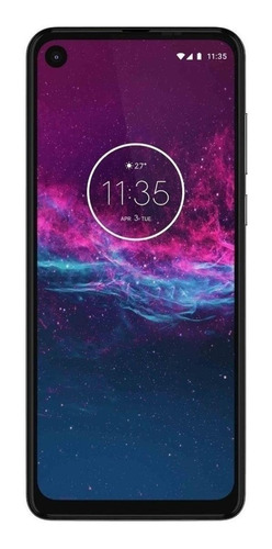 Celular Smartphone Motorola One Action Xt2013 128gb Branco - Dual Chip