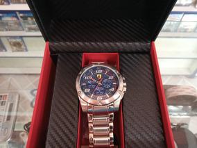 Relógio Scuderia Ferrari Paddock Impecável Na Caixa Original
