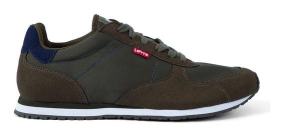 Tênis Levis Masculino Casual Eagle Running Verde