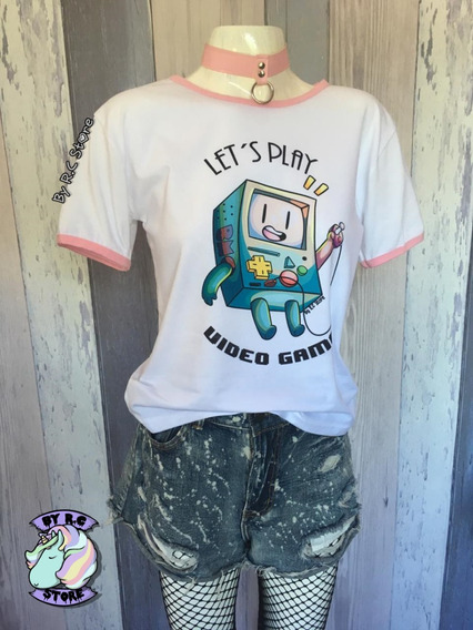 Remera Bmo Adventure Time Hora De Aventura Beemo