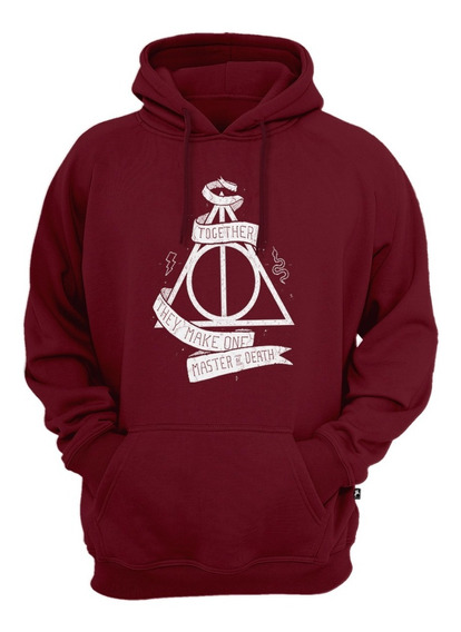 Blusa De Moletom Harry Potter Reliquias Morte Moleton Oferta