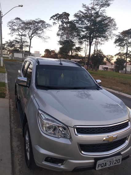 Chevrolet Trailblazer 2.8 Ltz Turbo Prata
