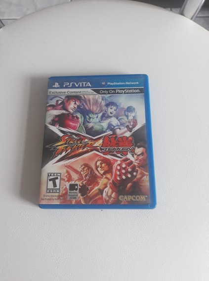 Street Fighter Vs Tekken Ps Vita