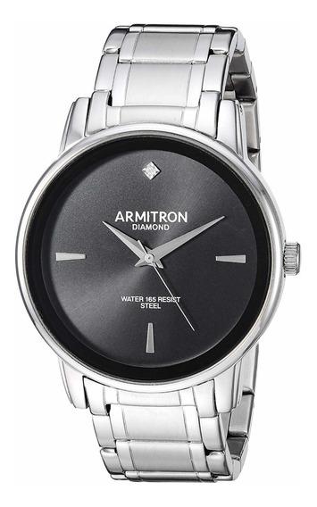 Reloj Hombre Armitron Diamond Modelo 20/5263bksv