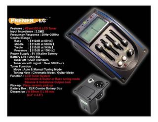 Microfono Preamplificador Belcat Prener-lc Afinador /