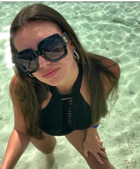 Óculos Gucci Preto Novo Original Com Garantia