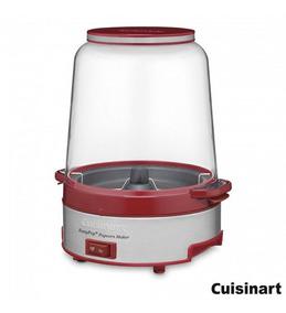 Cuisinart - Pipoqueira Elétrica Vermelha - 127v Cpm 700br