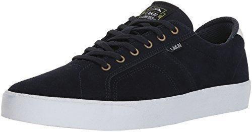 """Lakai flaco /""""Stevie Perez Negro//Goma Gamuza Hombre Zapatos Tenis Para Zapatillas de Skate"""