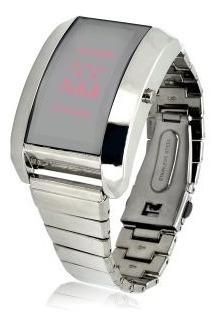 Aço Inoxidável Led Watch