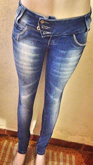 Calça Jeans Skinny Lavagem Clara Bolsos Marisa 40