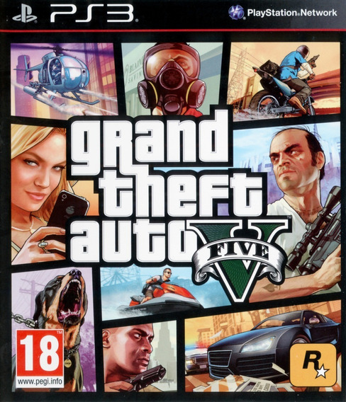 Grand Theft Auto V Ps3 (gta 5) Psn Top