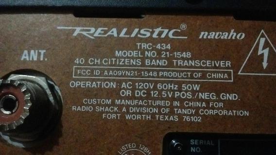 Realistik Navaho Trc-492 40 Canales Cb