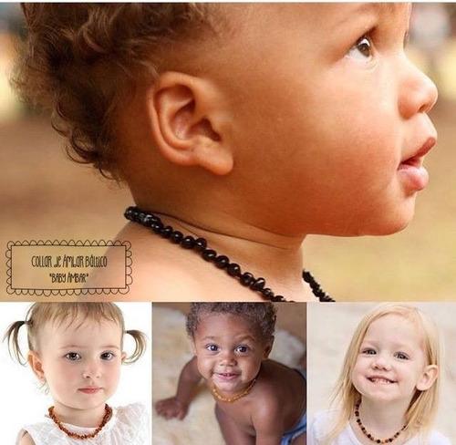 Imagen 1 de 10 de Collar De Ámbar Báltico Para La Dentición Baby Ámbar Uruguay