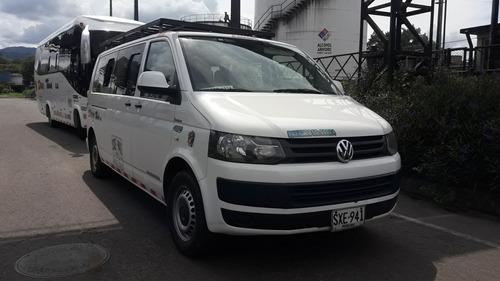 Microbus Volkswagen Transporter T5 Bicis Operación Nacional