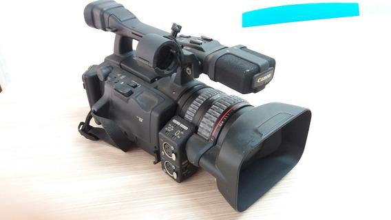 Câmera Filmadora Profissional Canon Xh A1s Excelente Estado