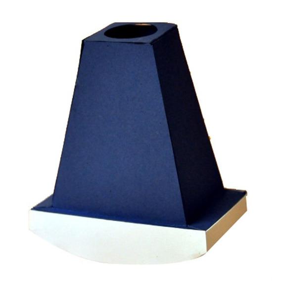 Monoculo 135mm Azul ( Pacote Com 40 Un )