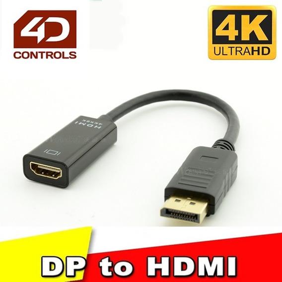 Adaptador Displayport 1.2 X Hdmi 1.4 Uhd 4k Nvidia Amd Asus