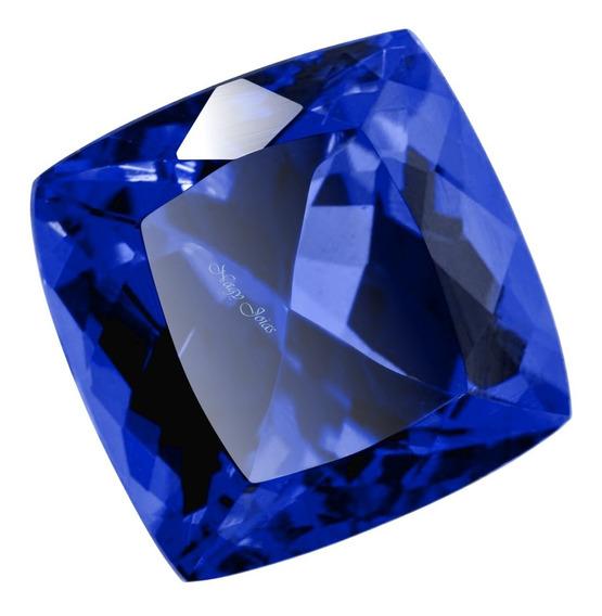 Lindíssima Safira Caxemira Pedra Preciosa / 10x10mm / 5cts