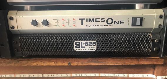 Amplificador De Potência Sl-825 - 4000w Rms - Times One