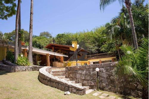 Chácara Com 4 Dormitórios À Venda, 5500 M² Por R$ 1.500.000,00 - Condomínio Nova Suiça - Valinhos/sp - Ch0612