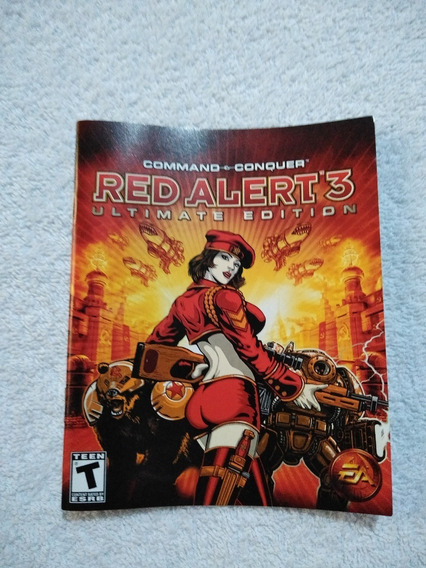 Manual Do Game Red Alert 3 Ps3 ** Leia