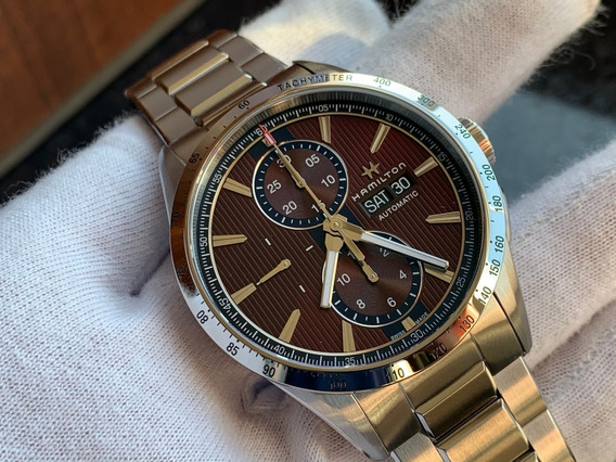 Relógio Hamilton Broadway Chronograph Automatic H43516171