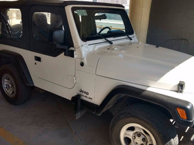 Jeep Wrangler Blanco 4 X 4 2005