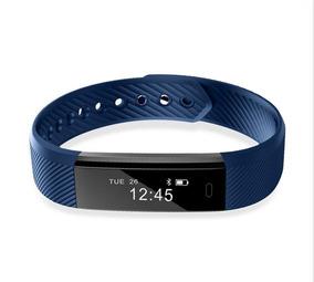 Relógio Bracelete Pulseira Smartband Usb Id 115 Prova Dágua