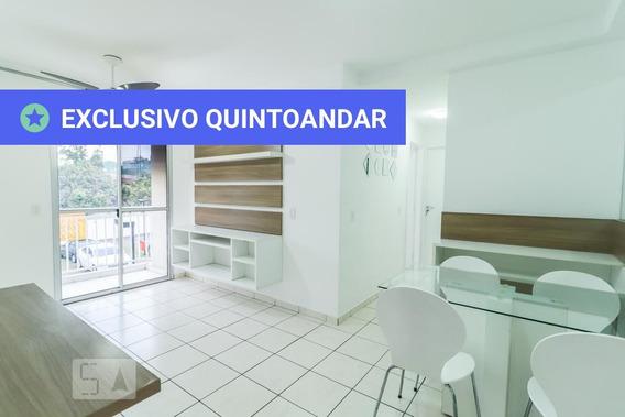 Apartamento No 2º Andar Com 2 Dormitórios E 1 Garagem - Id: 892945555 - 245555