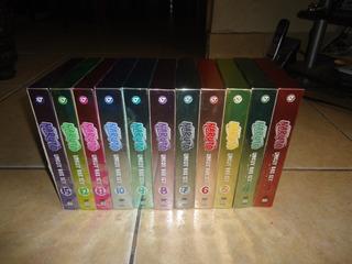 Naruto Uncut Box Set Lote Coleccion 33 Dvd