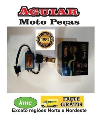 Lampada Farol Led Moto H4 Alta Performance / 2500 Lumens