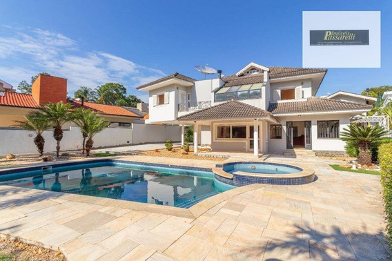 Casa Com 5 Dormitórios À Venda, 600 M² Por R$ 1.850.000 - São Joaquim - Vinhedo/sp - Ca2372