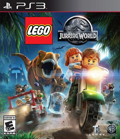 Lego Jurassic World Portugues Psn Ps3