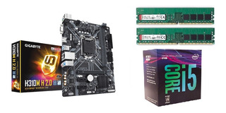 Combo Actualizacion Pc Intel I5-8400 Mother H310 8gb
