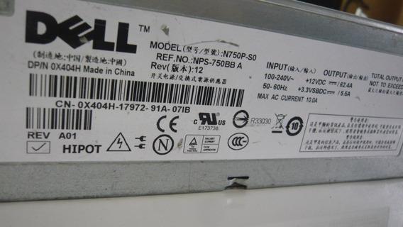 Fonte Servidor Dell Poweredge 2950 N750p-s0 750w N750p Usado
