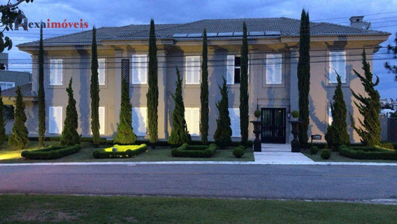 Casa Com 5 Dormitórios À Venda, 980 M² Por R$ 14.000.000 - Residencial Morada Dos Lagos - Barueri/sp - Ca0504