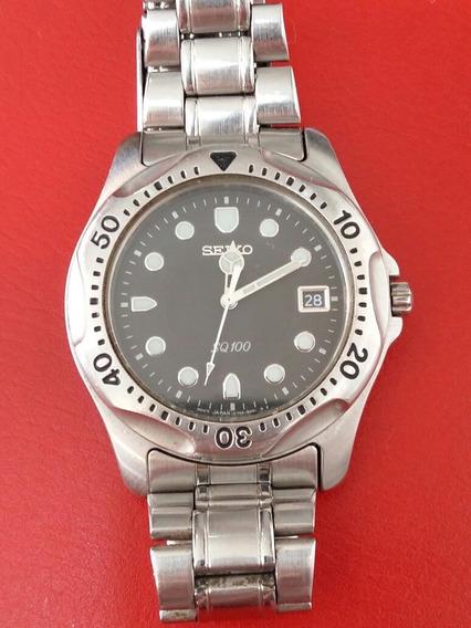 Relógio Seiko Quartz Sq100