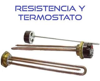 Kit Eléctrico Italiano / Resistencia Y Termostato 2000w