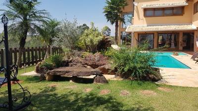 Linda Casa Em Atibaia, 480 M², 4 Suites - Mi75837