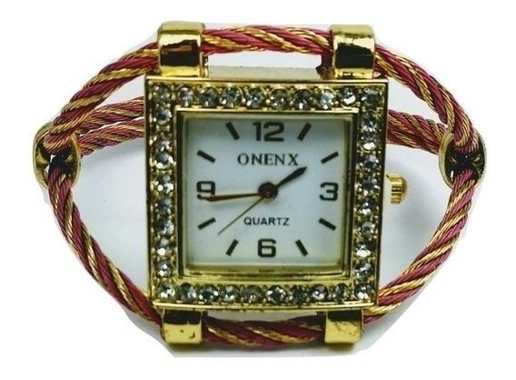 Relógio Feminino Modelo Onenx Casual Analógico