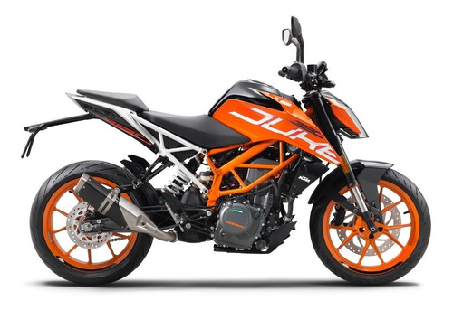Ktm Duke 390 Gs Motorcycle Naranja  2021