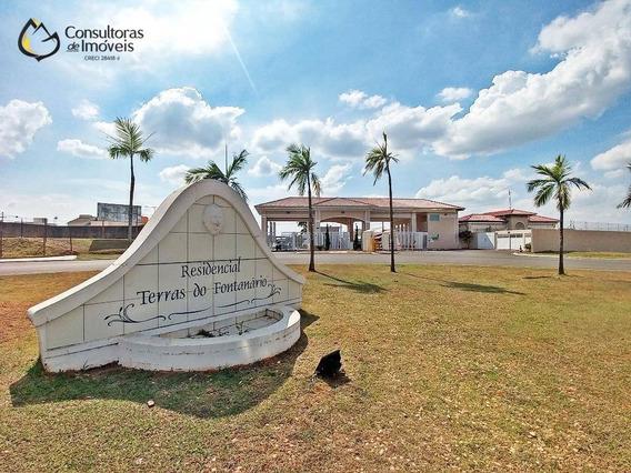 Terreno À Venda, 300 M² Por R$ 165.000,00 - Condomínio Terras Do Fontanário - Paulínia/sp - Te0398