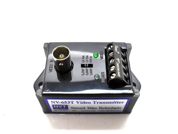 Transmissor Sinal De Video Ativo Cftv Nvt Nv-653t Cftv 1,6km