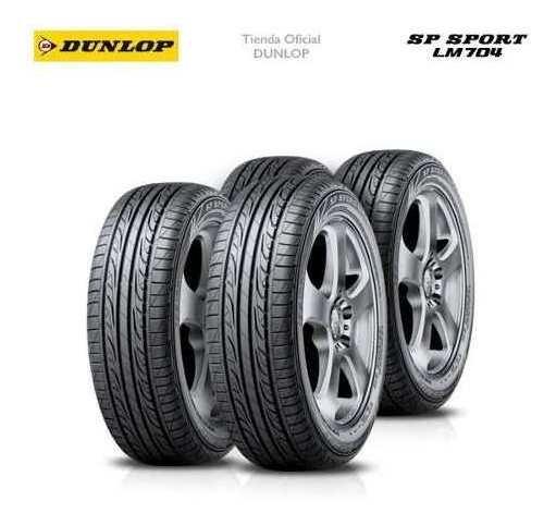 Kit X4 185/55 R16 Dunlop Sp Sport Lm704 + Tienda Oficial