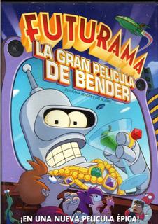 Futurama - La Gran Película De Bender - Dvd Original