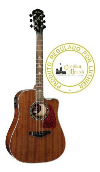 Violão Hofma Hmf 250 G Folk Regulado E Testado Por Luthier
